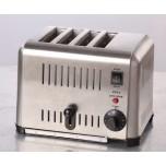 Toaster für 4 Toastscheiben, 300 x 225 x 215 mm,