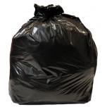 Jantex mittelschwerbelastbare Müllbeutel schwarz 80L
