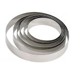 De Buyer Edelstahl Mousse Ring 24 x 6cm