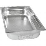 Gastronormbehälter Serie STANDARD, GN 1/1 (100mm), perforiert