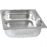 Gastronormbehälter Serie STANDARD, GN 2/3 (100mm), perforiert