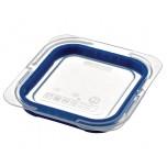 Araven Deckel für GN1/6 Lebensmittelbehälter blau