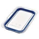 Araven Deckel für GN1/4 Lebensmittelbehälter blau
