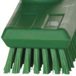 Schrubberbürste grün, 27 x 6,5 x 10 cm (BxTxH)