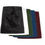 Nino Cucino Vorbinder mit Tasche, bordeaux, Länge 37,3 cm