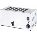 Toaster, für sechs Toasts, Abmessung 430 x 225 x 215 mm (BxTxH)