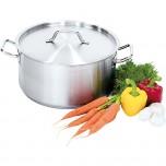 Suppentopf mit Deckel, Ø 280 mm, Höhe 130 mm, 8 Liter
