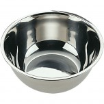 Küchenschüssel, poliert, Ø 18 cm
