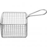 Servier-Frittierkorb quadratisch, 9,5 x 9,5 x 6 cm (BxTxH)