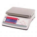 Küchenwaage, Kapazität 6 kg, Teilung 1 g, Abmessung 255 x 305 x 115 mm (BxTxH)