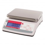 Küchenwaage, Kapazität 15 kg, Teilung 2 g, Abmessung 255 x 305 x 115 mm (BxTxH)