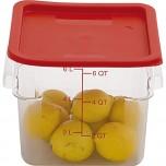Deckel rot, für Lebensmittelbehälter LT0201057
