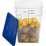 Deckel blau, für Lebensmittelbehälter LT0201114, LT0201208