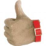 Stechschutzhandschuh, Kennung rot, Größe M