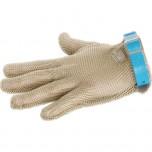 Stechschutzhandschuh, Kennung blau, Größe L