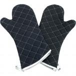 Küchenhandschuhe, zwei Finger, hitzebeständig bis 230 °C, Länge 43 cm