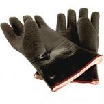 Neopren-Ofenhandschuhe, ölresistent, fünf Finger, hitzebeständig bis 300 °C