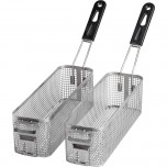 Fritteusenkorb, 2er Pack, für SL02109T, SL02218T, Abmessung 105 x 350 x 110 mm (BxTxH)