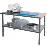 Arbeitstisch mit Grundboden, 1000x700x860-900