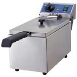Friteuse, Elektro, 190x440x270 mm, 1 Becken, 6 Liter, 4,5 kg