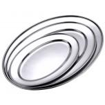 Bratenplatte oval  25 x 18 cm