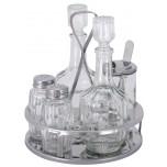 Ersatzflasche für Menage 126 Öl/Essig mit Stöpsel
