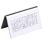 Tischschild  RESERVIERT