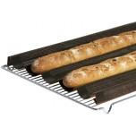 Backmatte GN 1/1 für Baguette und Brötchen aus Silikon
