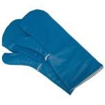 Paar Kältehandschuh aus blauem Polyurethan