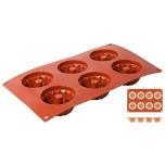 Silikon-Backmatte Mini-Gugelhupf 7 cm