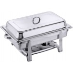 Chafing Dish GN 1/1, Gestell aus Edelstahl 18/0