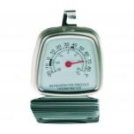 Kühlraumthermometer, 6 x 8,5 cm, Edelstahl