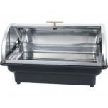 Elektro Chafing Dish GN 1/1 mit Roll Top Deckel, 56 x 36 x 32 cm, Kunststoff