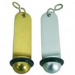 Schlüsselanhänger ohne Gravur, 11 cm, silberfarben, Zinkguss