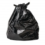 Jantex biologisch abbaubare Müllbeutel schwarz 80L
