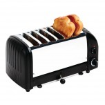 Dualit Vario 6-Schlitz-Toaster schwarz 60145