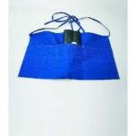 Vorbinder mit drei Taschen, 53 x 30 cm, weiß, Polyester/Baumwolle