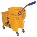 Jantex Moppeimer mit Mopppresse gelb 20L