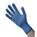 Schnittfester Handschuh blau L