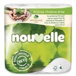 Nouvelle sanftes Toilettenpapier 2-lagig