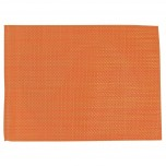 Tischsets aus PVC orange