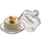 Butterservierer mit Glasglocke