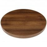 Bolero Tischplatte Eiche rustikal rund 60cm