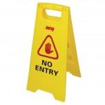 "Jantex Warnschild ""No Entry"""
