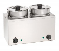 Bain-Marie Hot Pot 2x 3,5 Liter