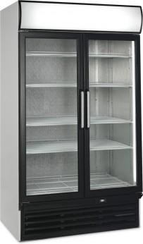 Glastür-Kühlschrank HL 1200 GL - Esta