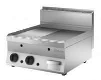 Griddleplatte Gas 650,B600, 1/2-1/1