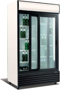 Glasschiebetüren-Kühlschrank SD 1001 GL - Esta