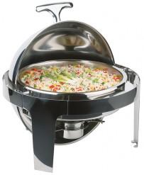 Rolltop-Chafing Dish -ELITE- Ø 45 cm, H: 45 cm, 5 Liter