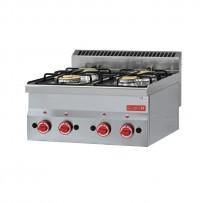 Gastro M Herdplatten Gasanschluss 60/60 PCG